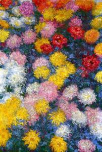 Monet chrysanthemums-1897